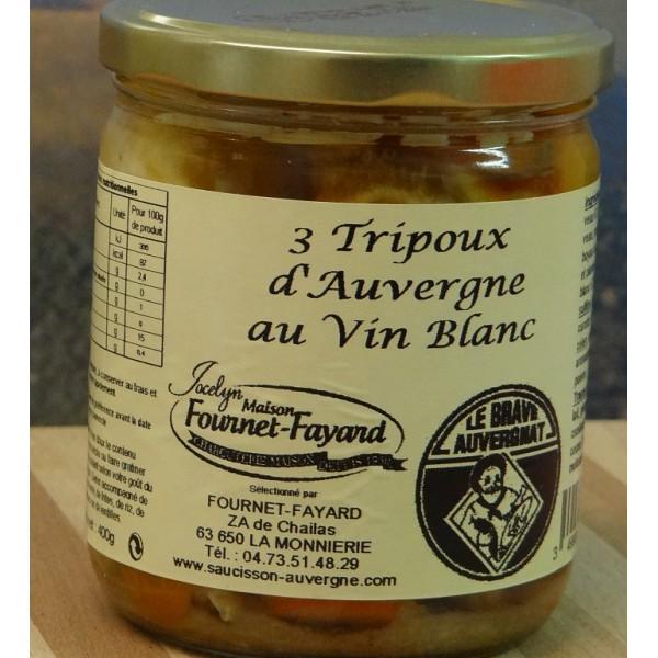 Tripoux vin blanc Fournet-Fayard