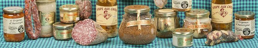 Vente en ligne de produits du terroir Auvergnats